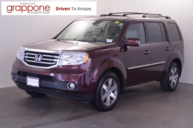 Certified pre owned 2014 honda pilot touring 4d sport for Certified pre owned honda pilot 2016